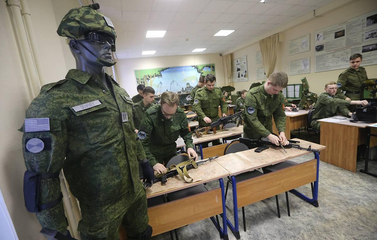 Срок службы на военной кафедре