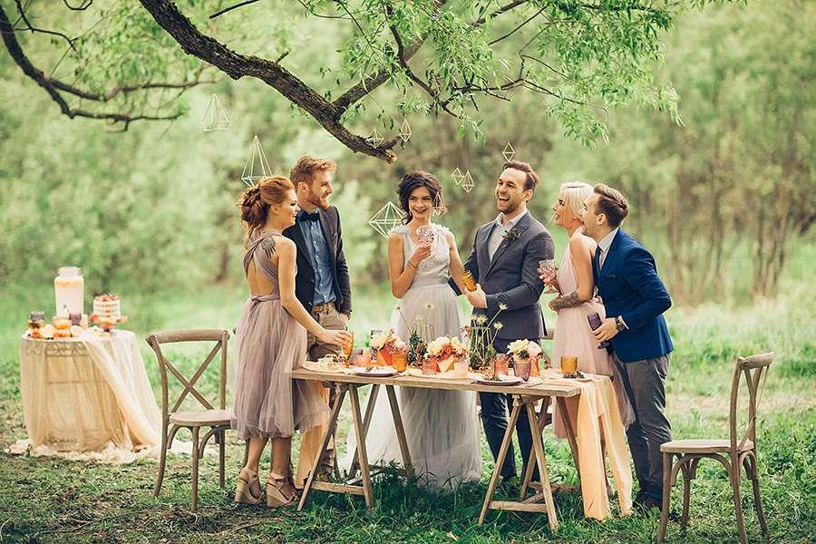 Свадебное торжество у студентов